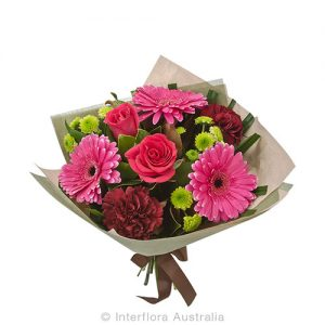 Pretty flower bouquet in seasonal blooms
