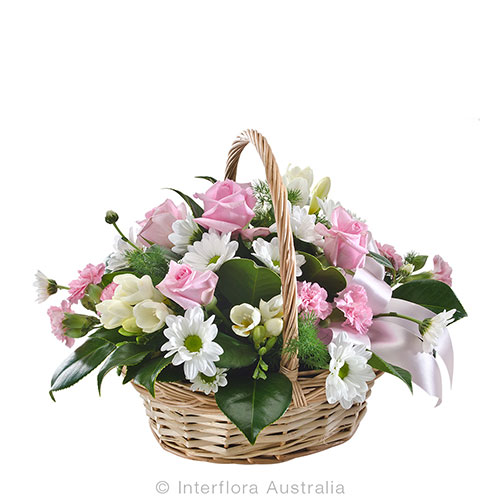 Celebrate with flowers in pastel hues
