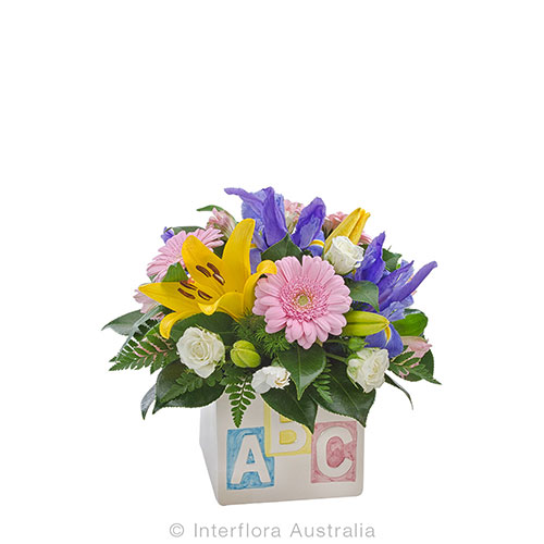 Lovely ABC blooms