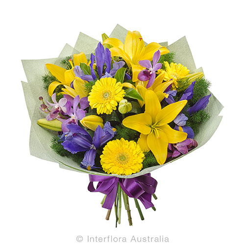 Stunning seasonal flower bouquet