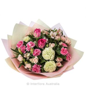 Impress with beautiful pink and white blooms