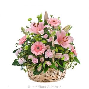 A floral tribute of beautiful flowers