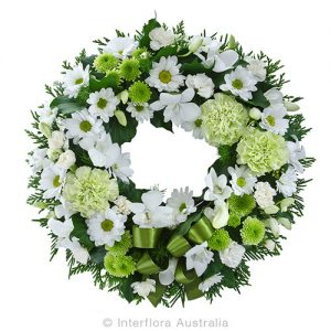 A heartfelt wreath tribute