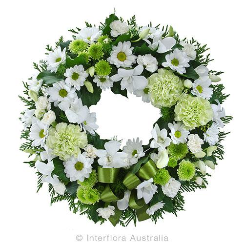 A heartfelt wreath tribute