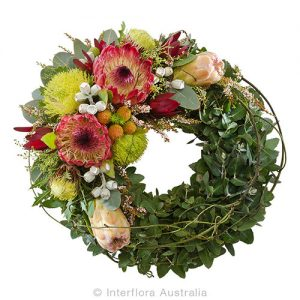 Remeberance with native wreath