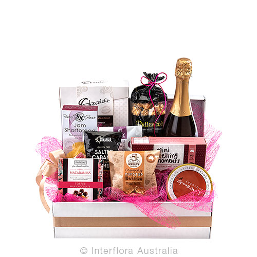Bubbles and sweet treats for that special moment